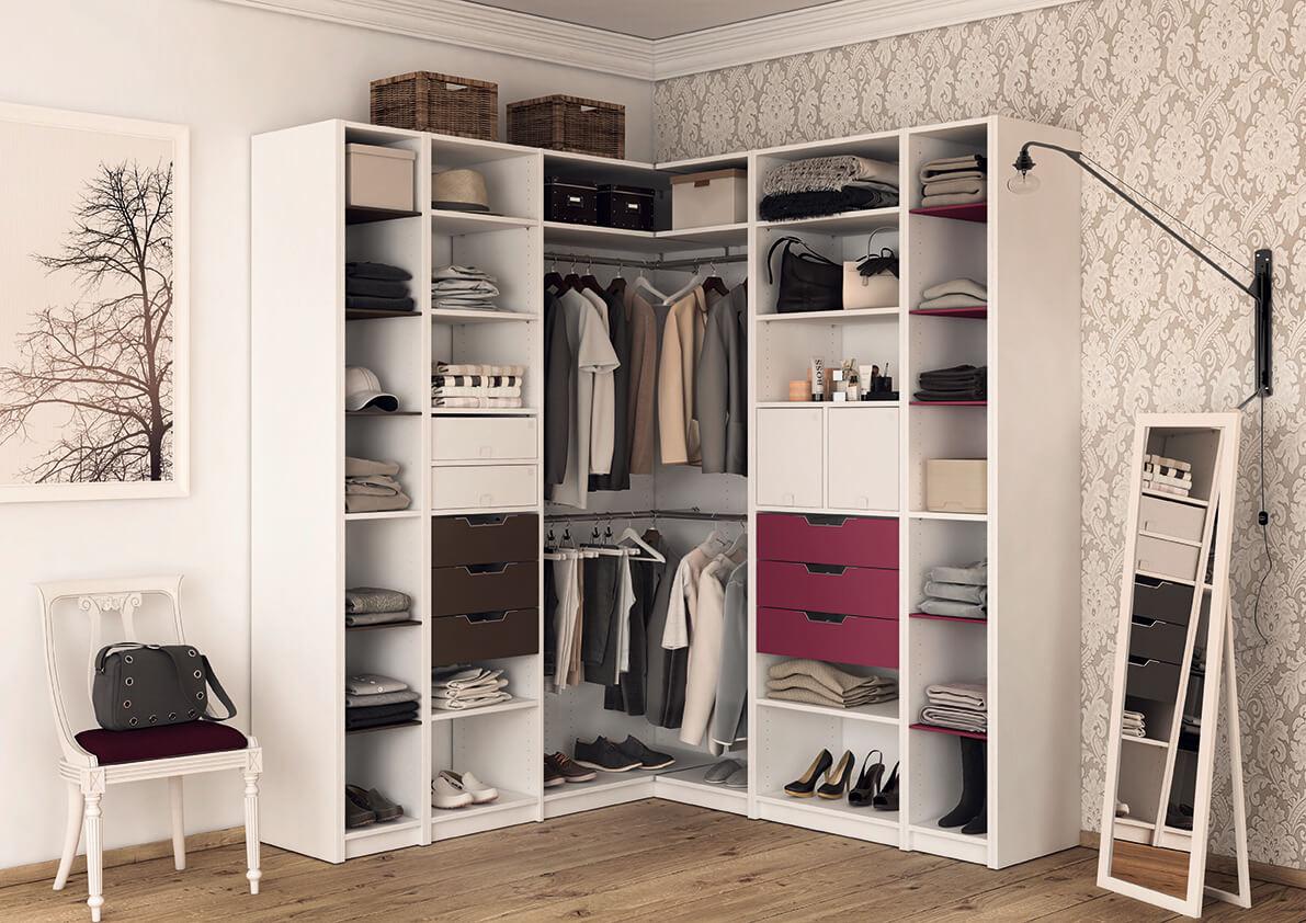 meuble angle dressing chambre