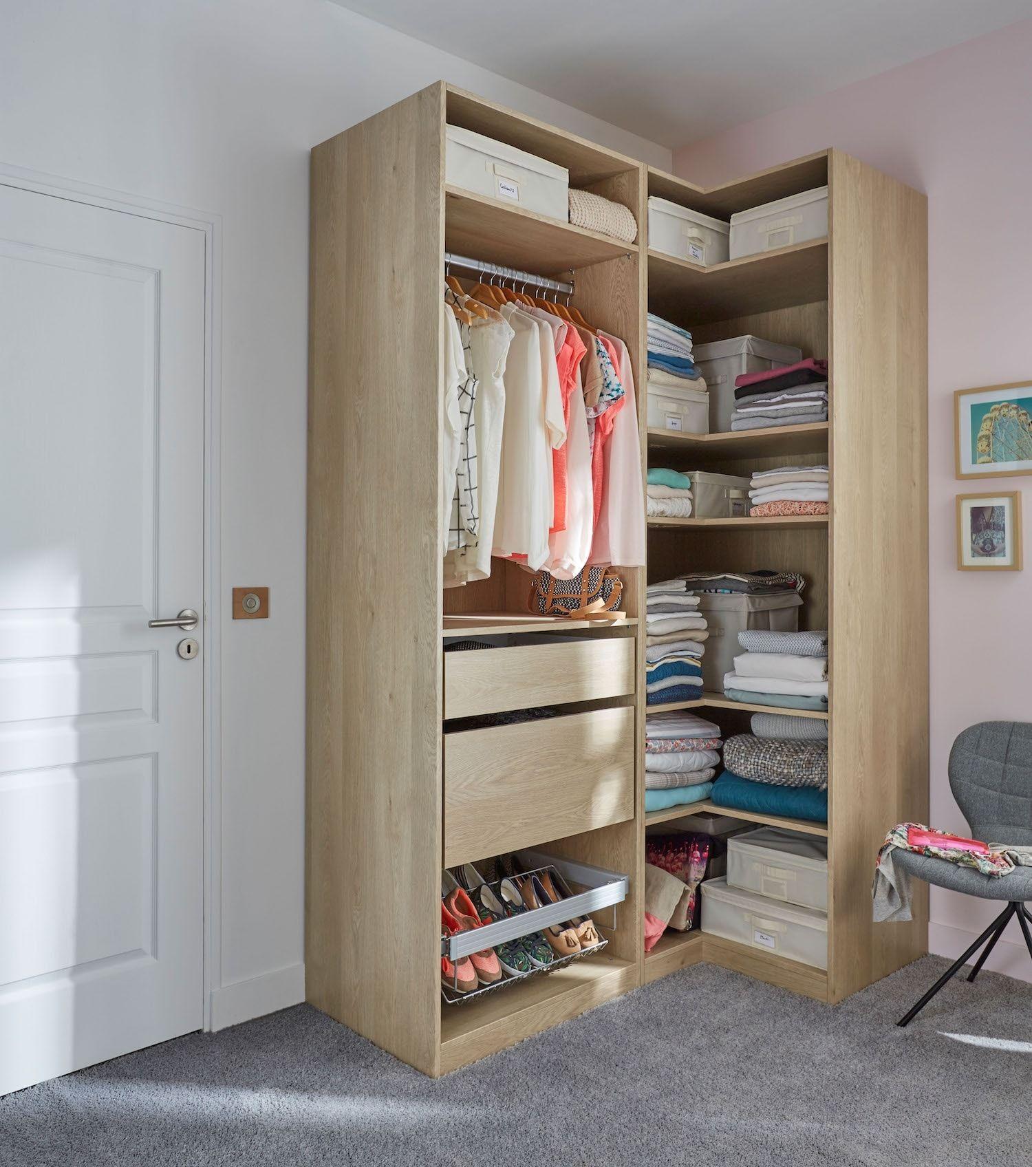 meuble angle dressing petite chambre