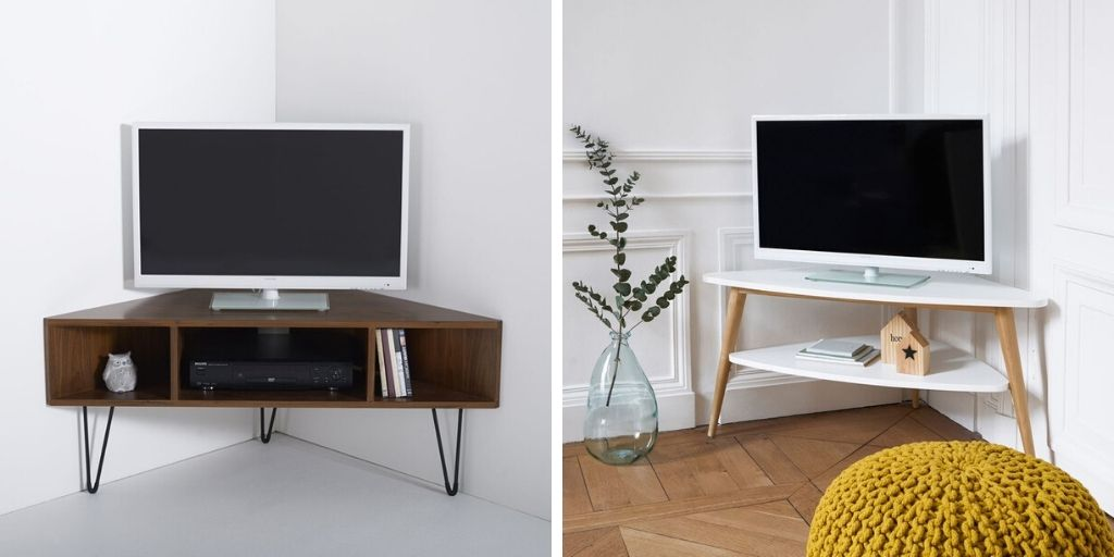 meuble angle television deco