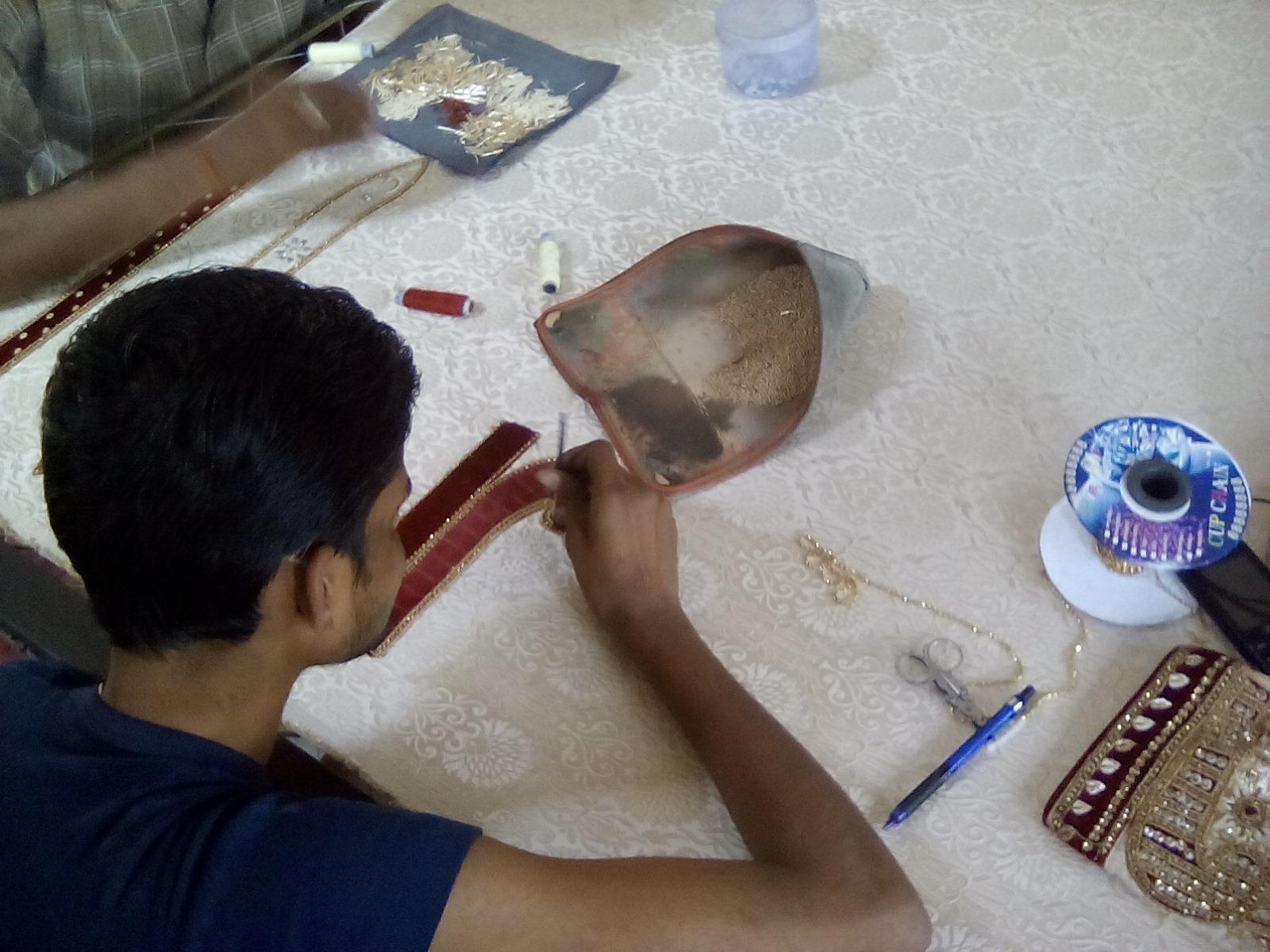 nomade artisanat local asie inde textile