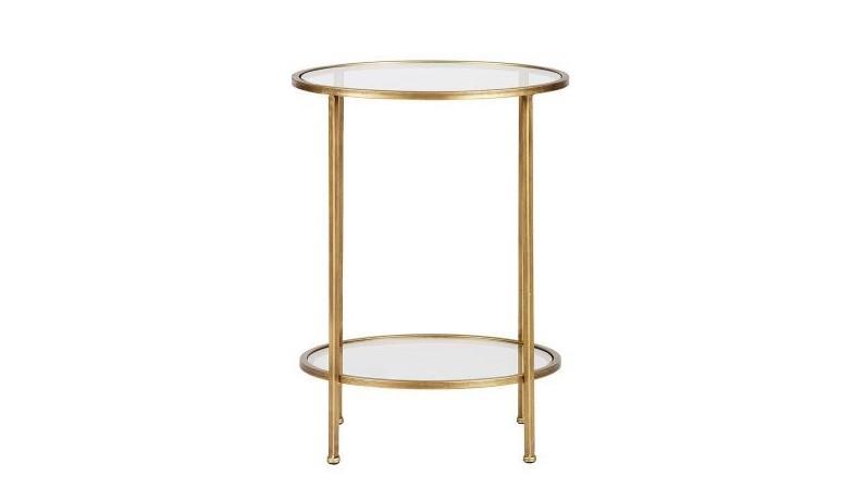 ou acheter petite table basse doree pas cher