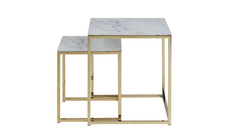 ou acheter table basse or marbre pas cher