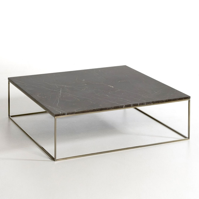 ou acheter table basse pied or marbre