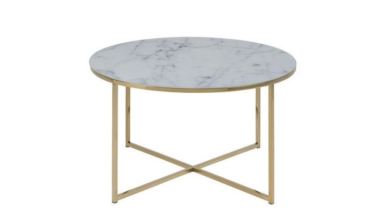 ou acheter table basse ronde or marbre