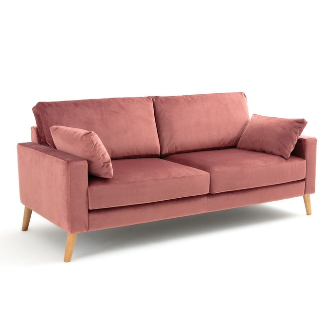 ou trouver canape velours couleur bois de rose confortable