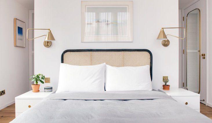 ou trouver tete de lit en rotin