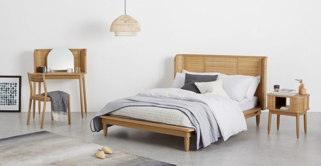 ou trouver tete de lit rotin elegant