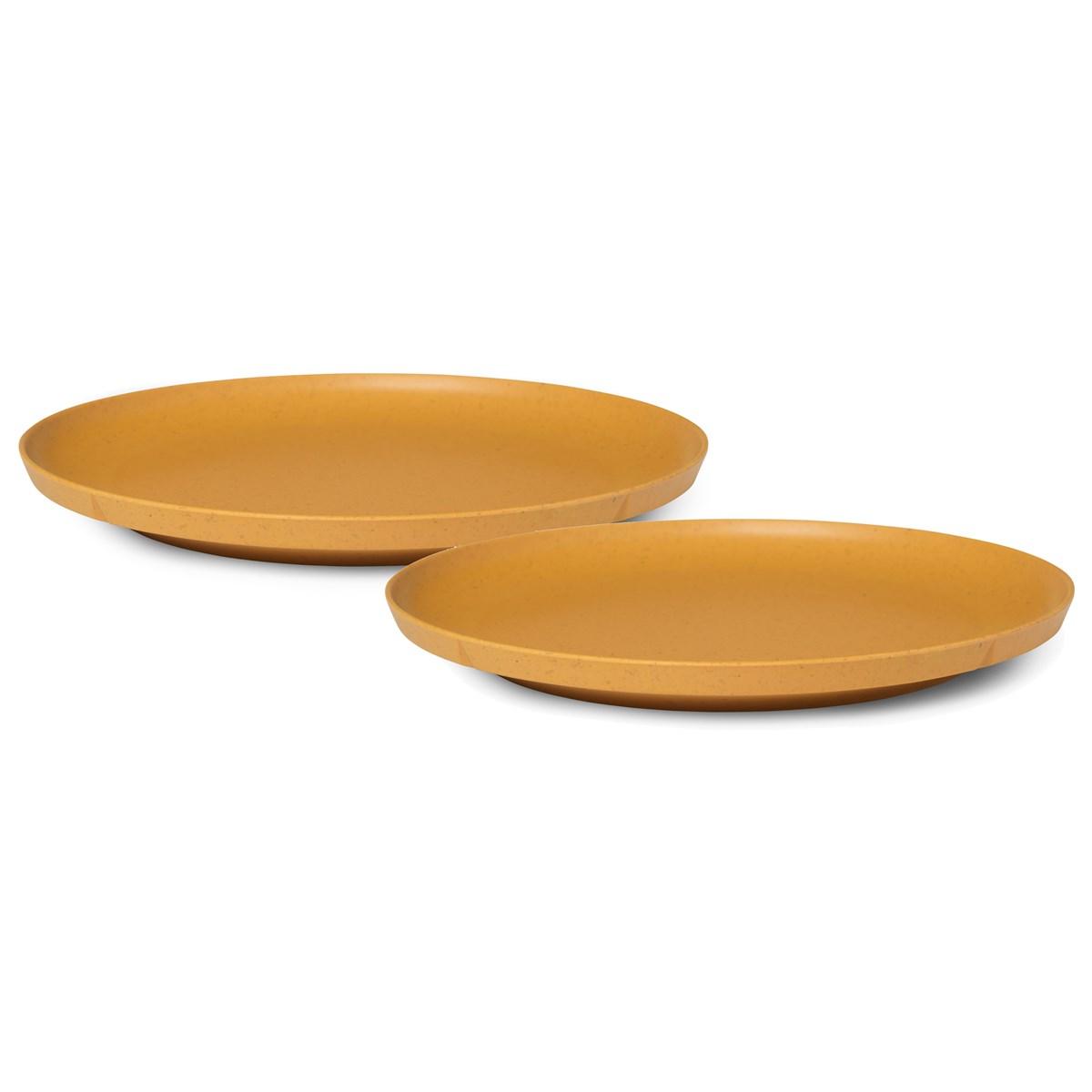 table ete assiette bambou pique nique
