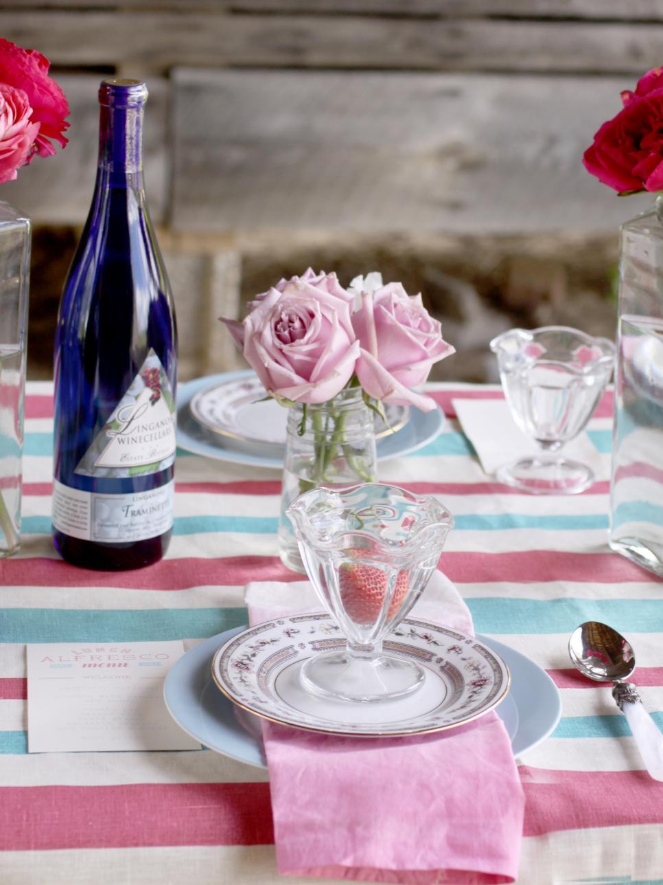 table ete couleur simplicite