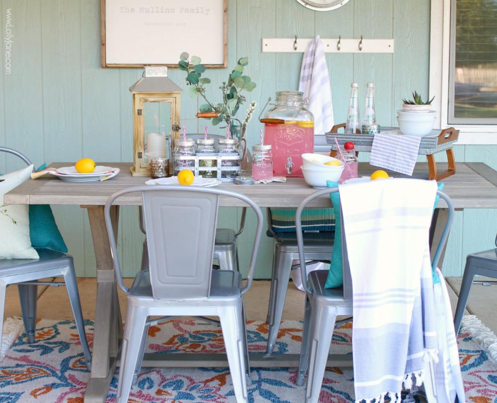 table ete simple decoration