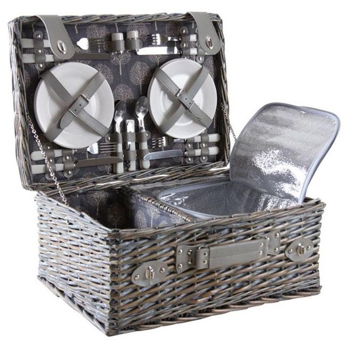 table pique nique panier vaisselle