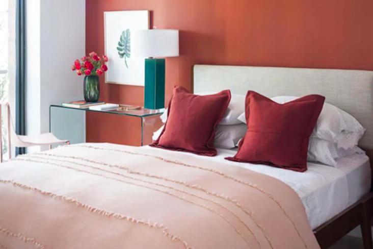 terracotta couleur chambre decoration