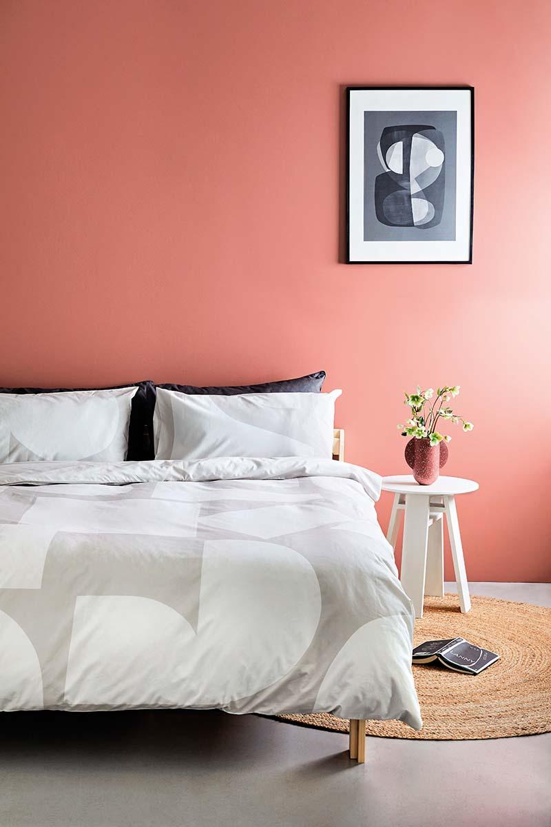 terracotta couleur chambre mur ambiance moderne