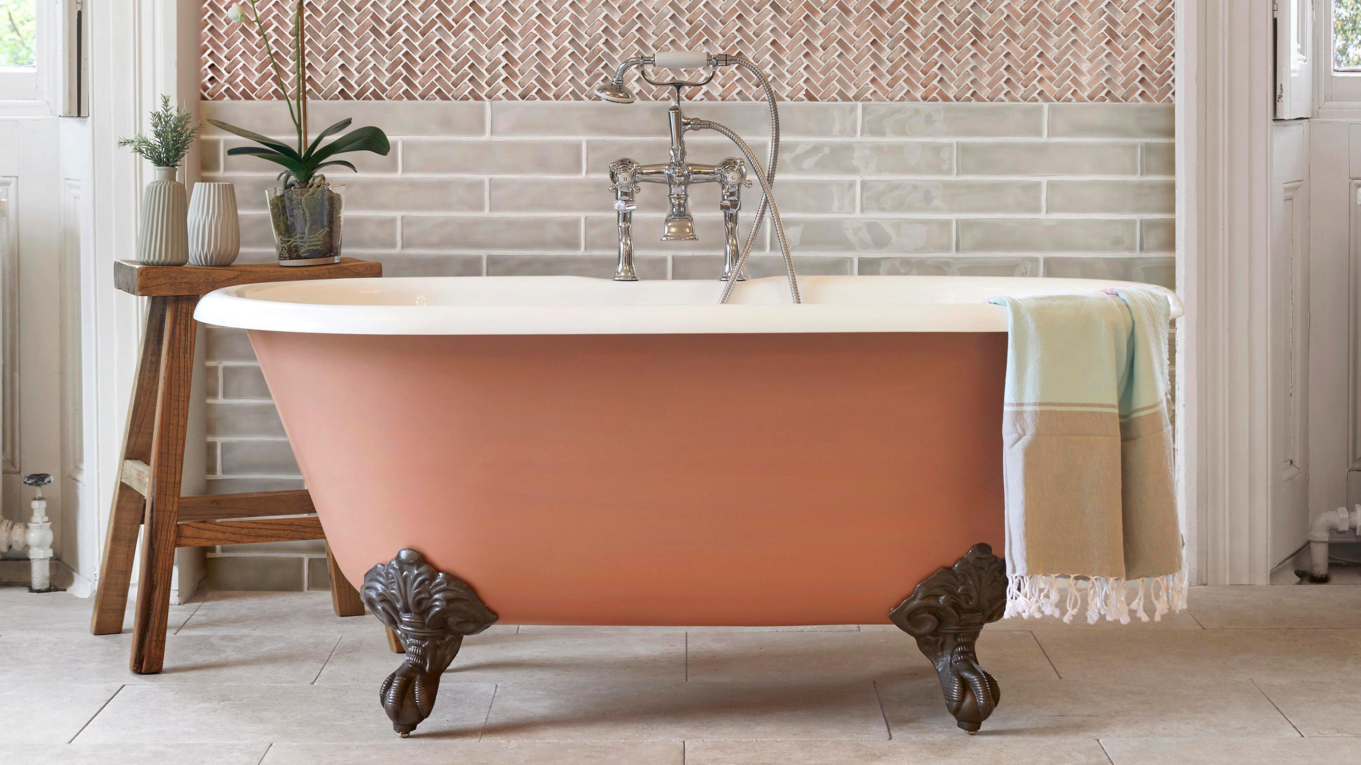 terracotta deco maison salle de bain
