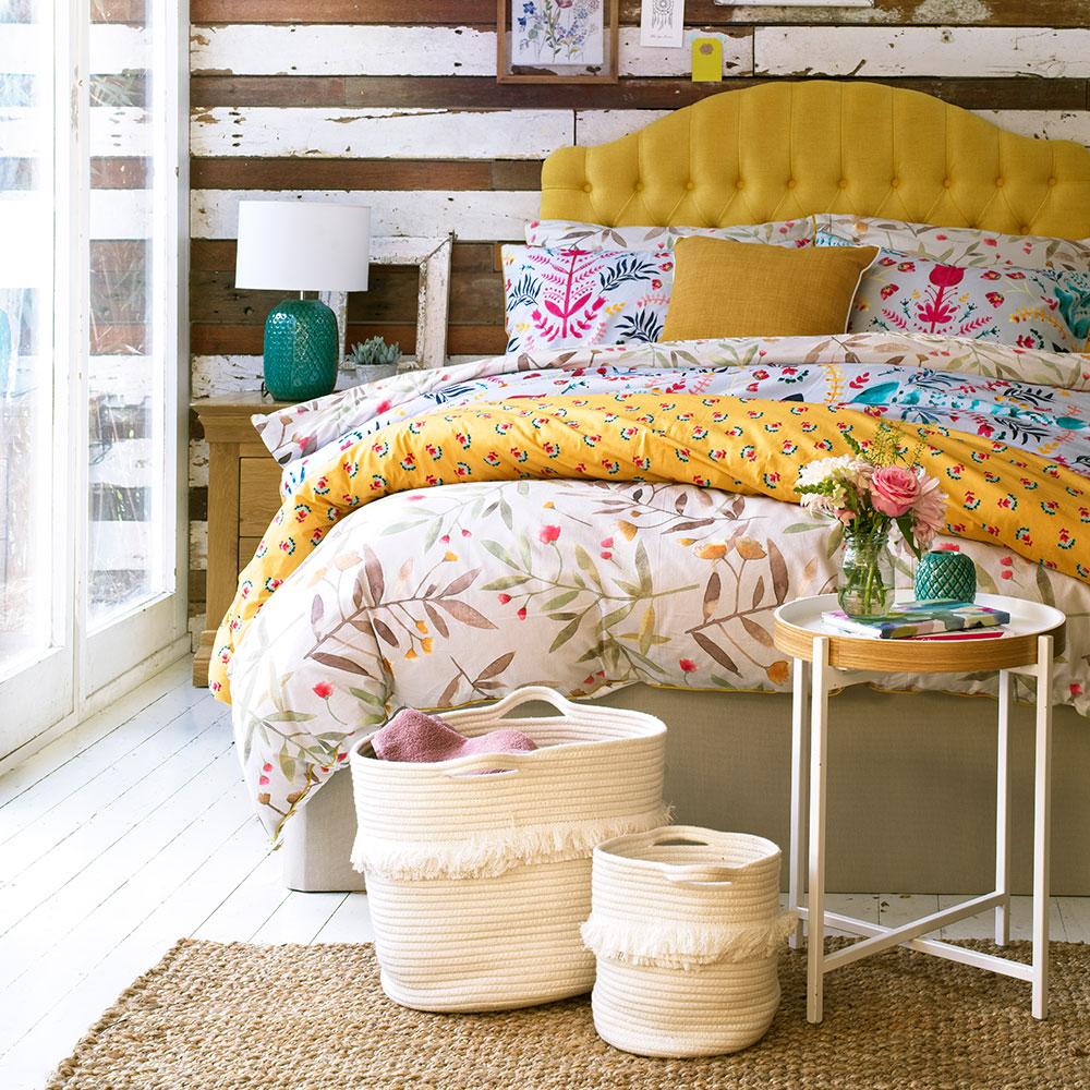deco mix match chambre tete de lit