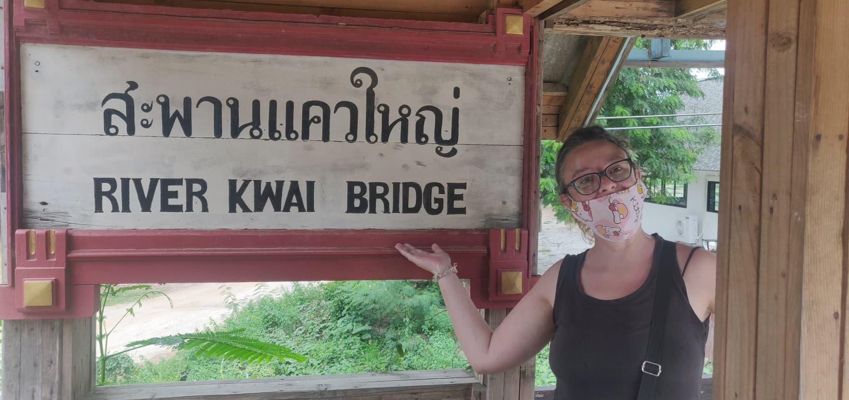 nomade thailande kanchanaburi pont riviere kwai