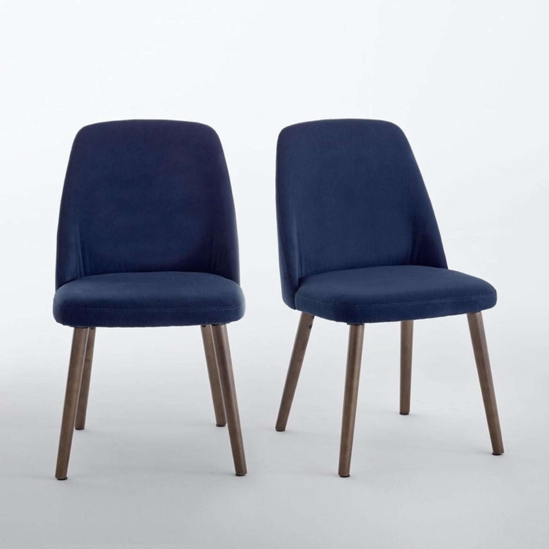 ou trouver chaise en velours bleu 001