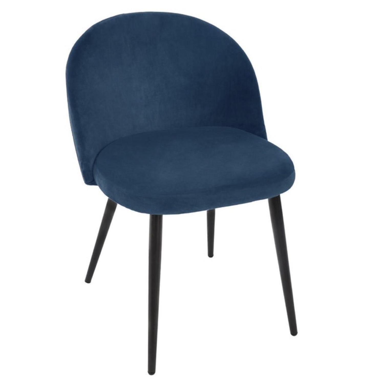 ou trouver chaise en velours bleu 002