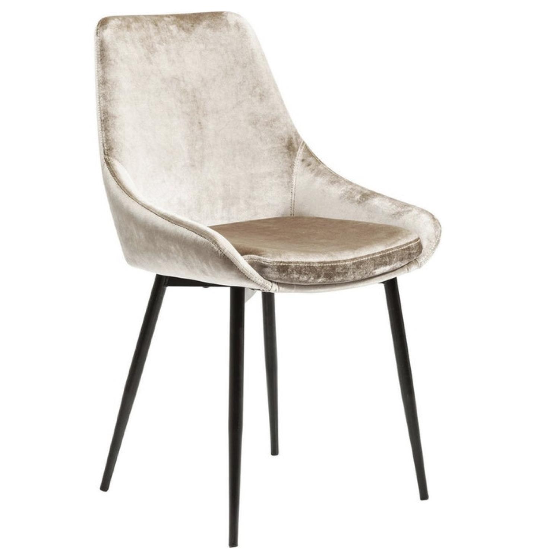 ou trouver chaises velours couleur beige