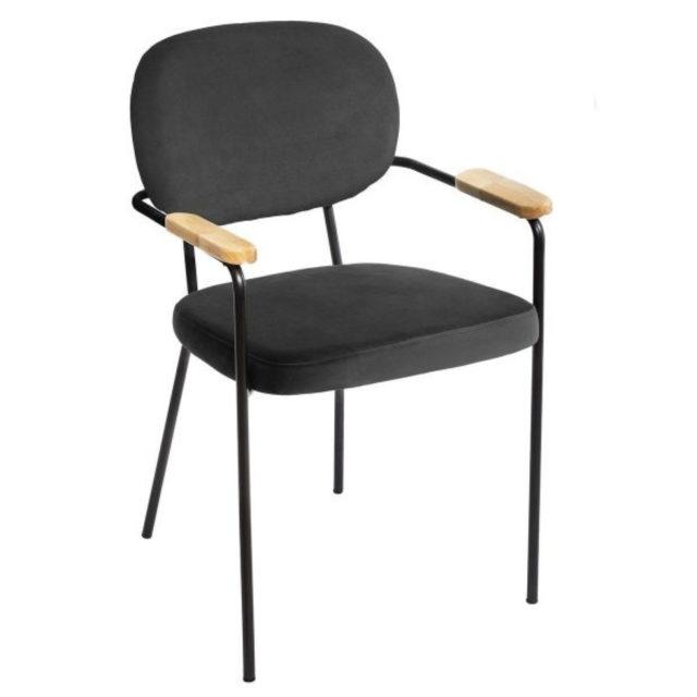 ou trouver chaises velours couleur noir