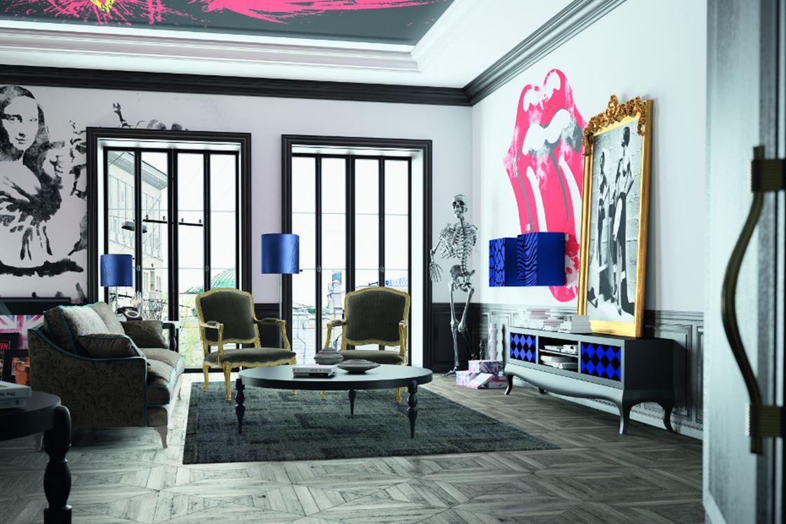 salon rock idee decoration