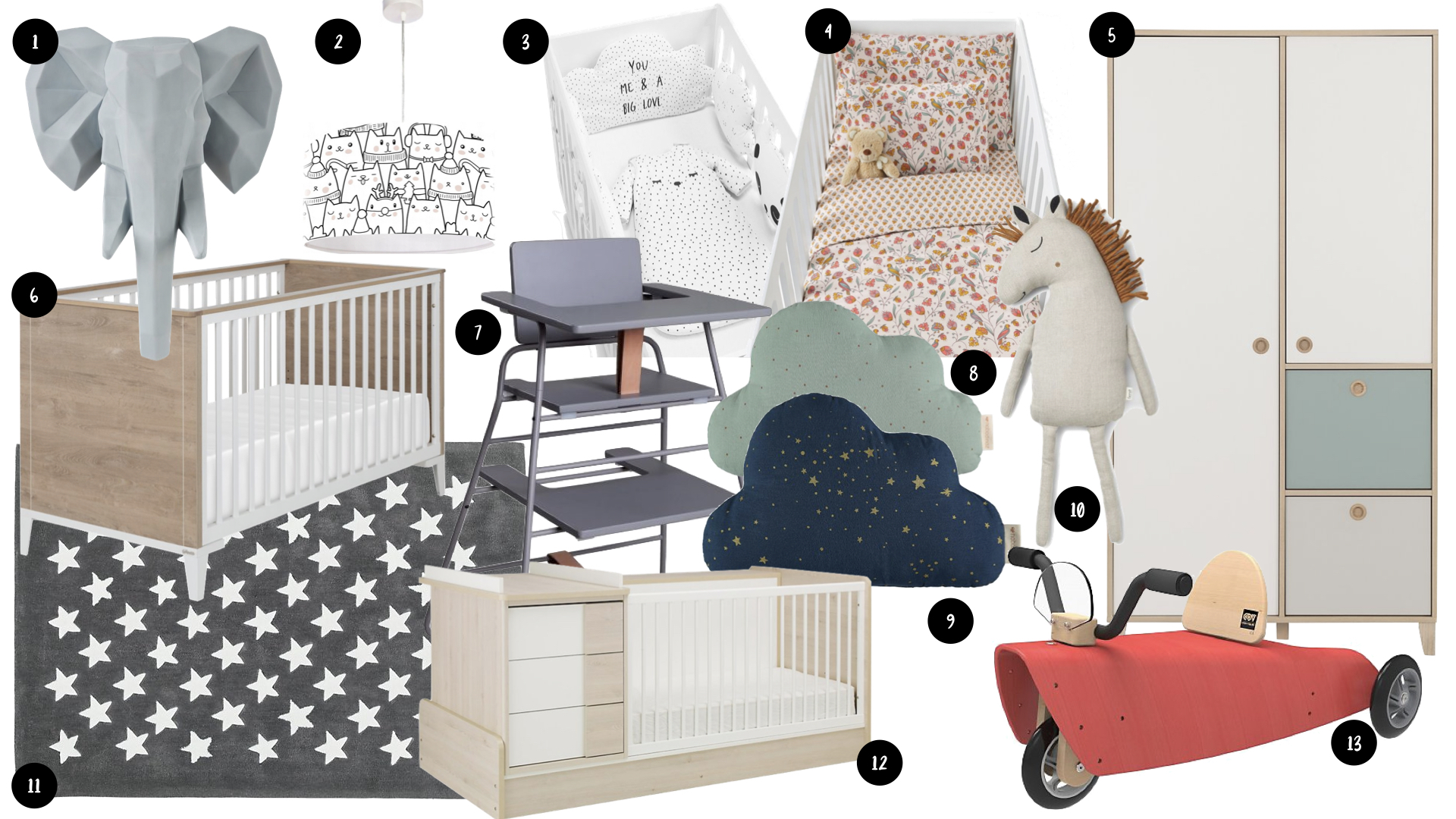 soldes chambre bebe selection deco