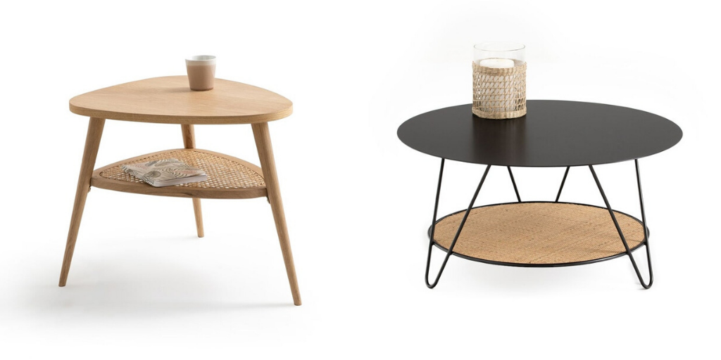 soldes table appoint cannage