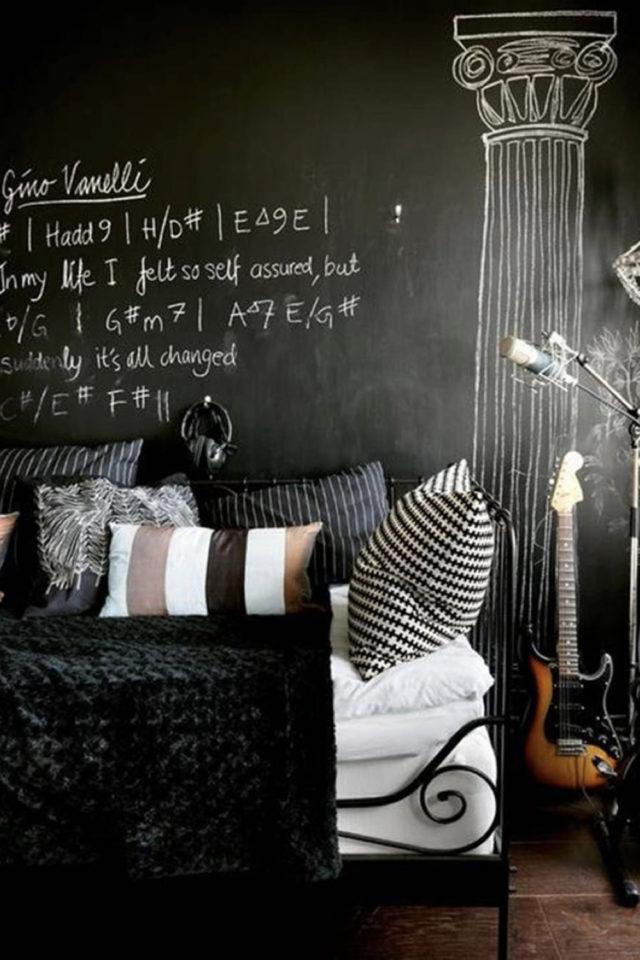 style rock chambre idee decoration 1