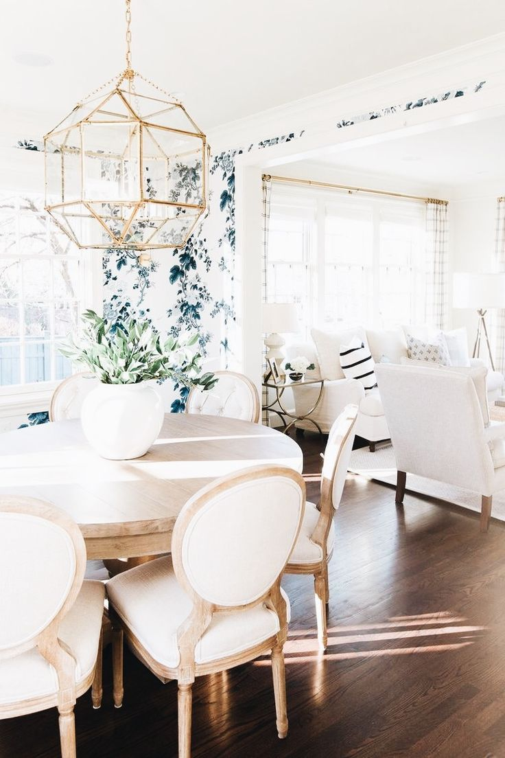 transformer deco scandinave modern glam salle a manger