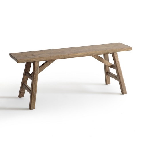 banc en bois poser plantes
