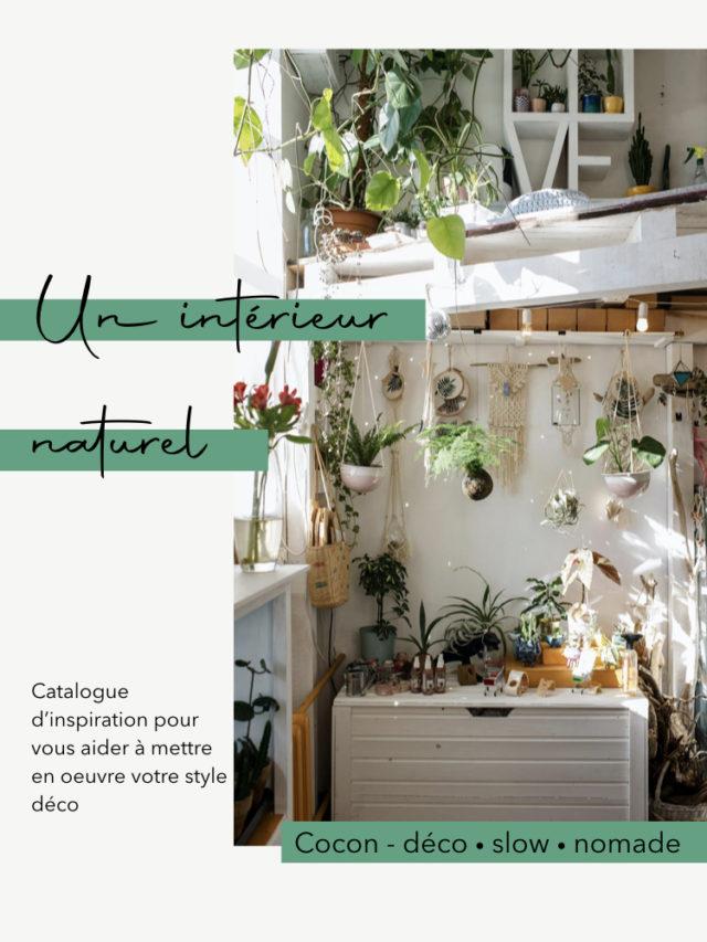 creer facilement un intérieur dans le style naturel