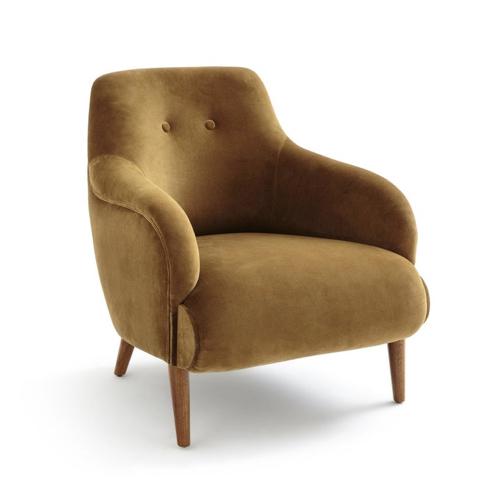 décoration style naturel chic fauteuil ocre