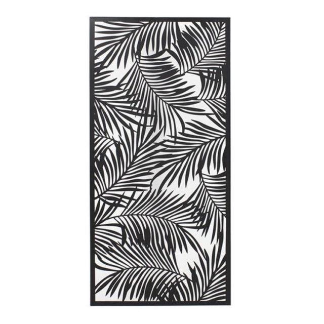décoration murale tableau nature tropicale