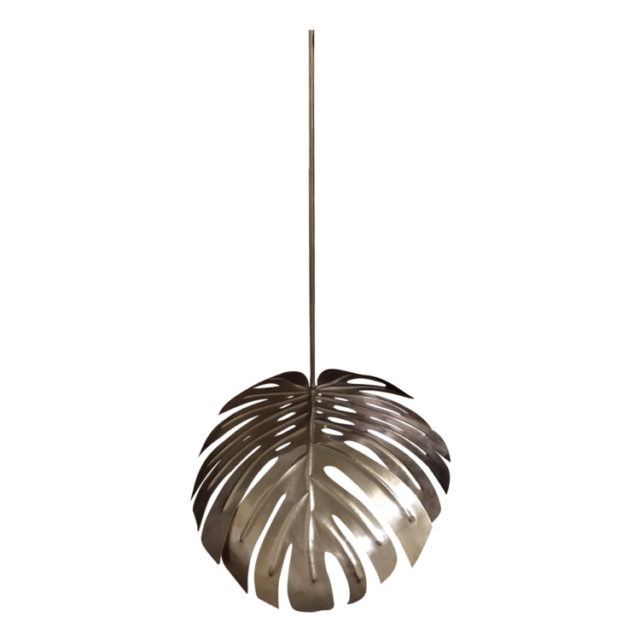 suspension style nature feuille tropicale