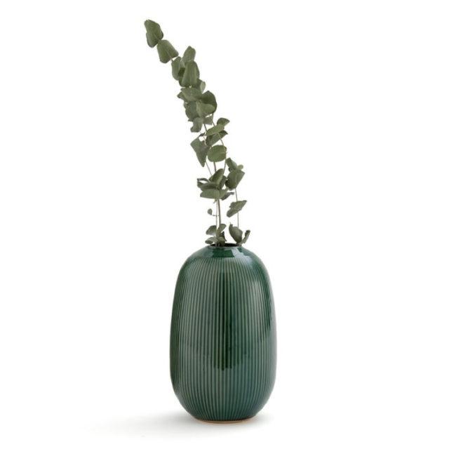 intérieur style nature vase elegant vert