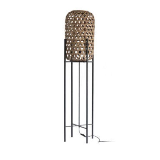 style nature lampadaire sur pied métal