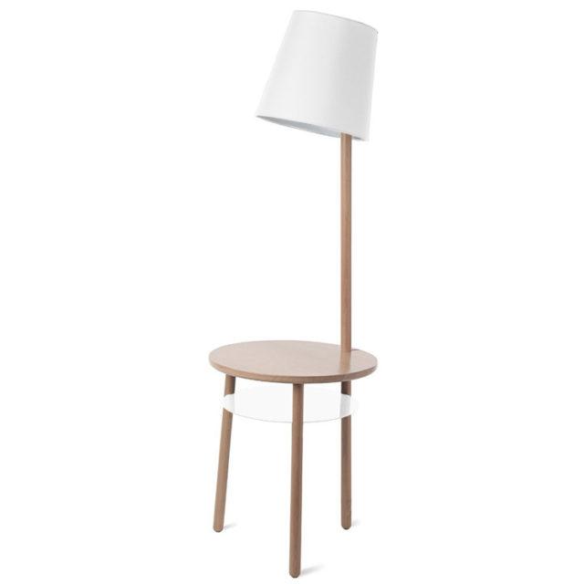 style nature lampadaire guéridon