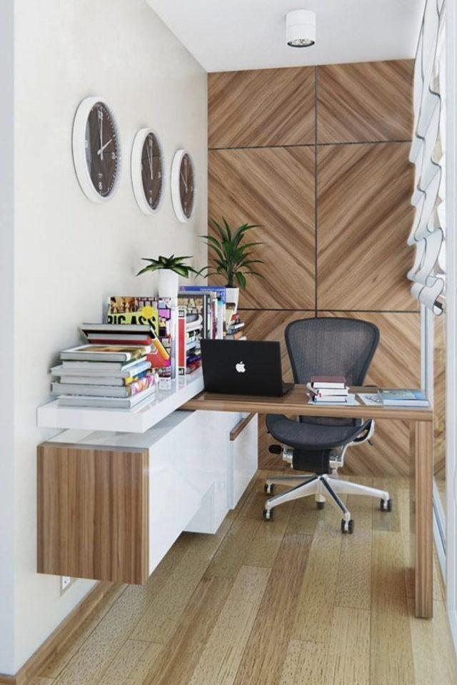 gain de place petit bureau domicile teletravail