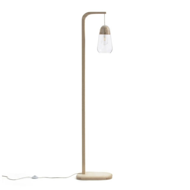 style nature lampadaire discret