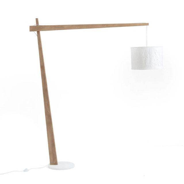 style nature lampadaire déporté