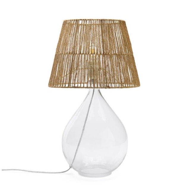 style nature lampe dame jeanne