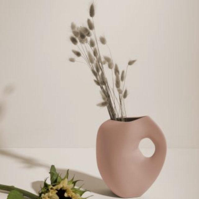 intérieur style naturel vase design terracotta