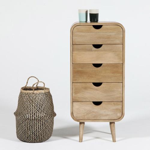 chiffonnier simple et moderne en bois