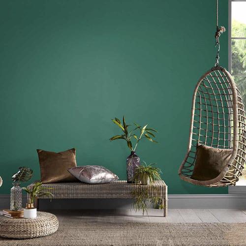 nuance de vert intense style nature tendance