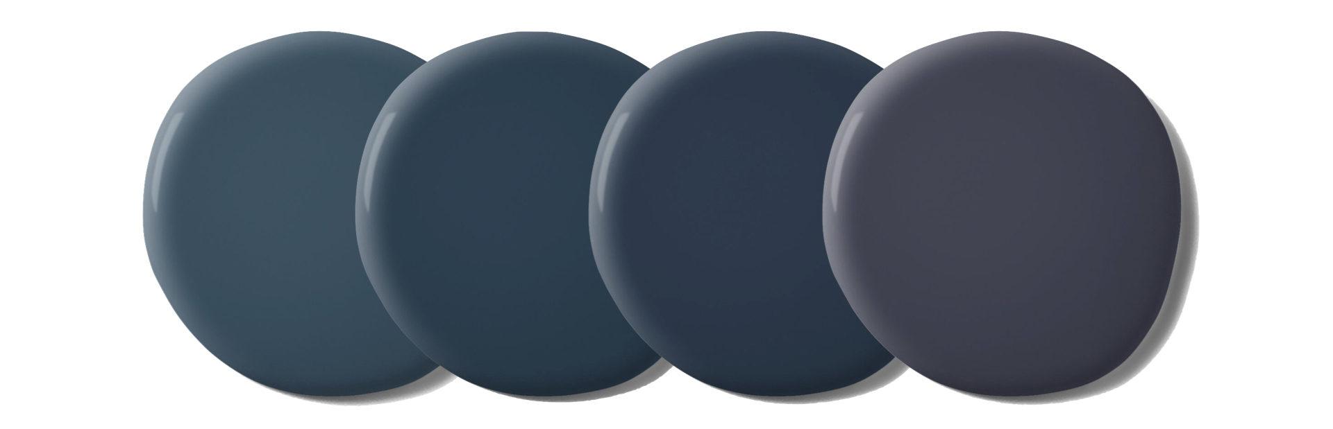 palette couleur bleu fonce tendance