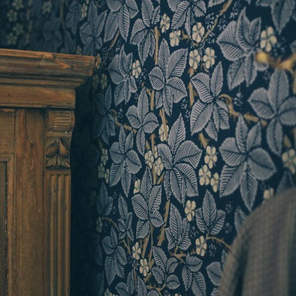 papier peint fleur cuisine salle a manger romantique 6