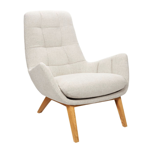 fauteuil design beige style nature