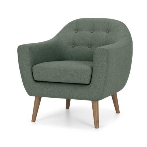 fauteuil classique vert foret