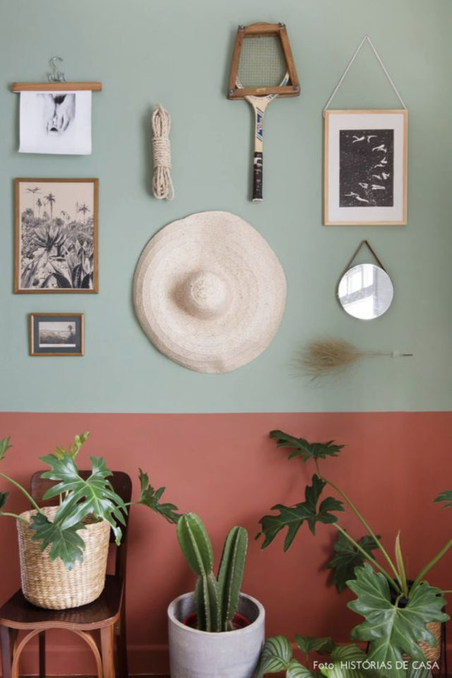 style deco couleur terracotta nature vert