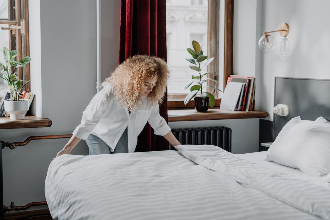 textile maison linge de lit coton bio